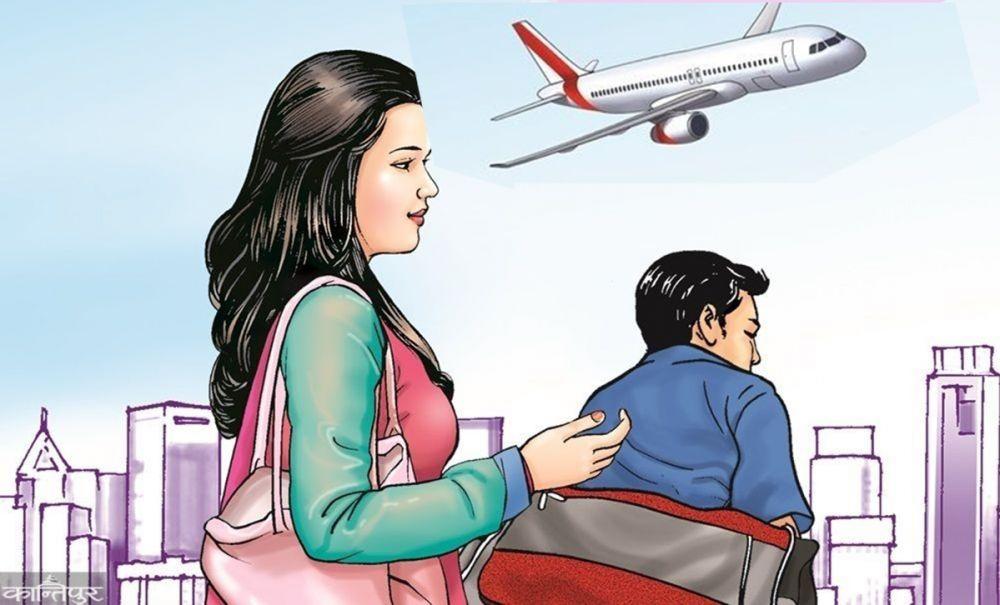 सीप नसिकी आधाभन्दा बढी कामदार वैदेशिक रोजगारीमा, जोखिम उस्तै