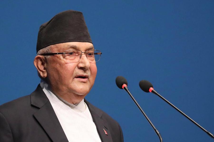 कृषि क्षेत्रको विकास नै 'समृद्ध नेपाल, सुखी नेपाली': प्रधानमन्त्री ओली