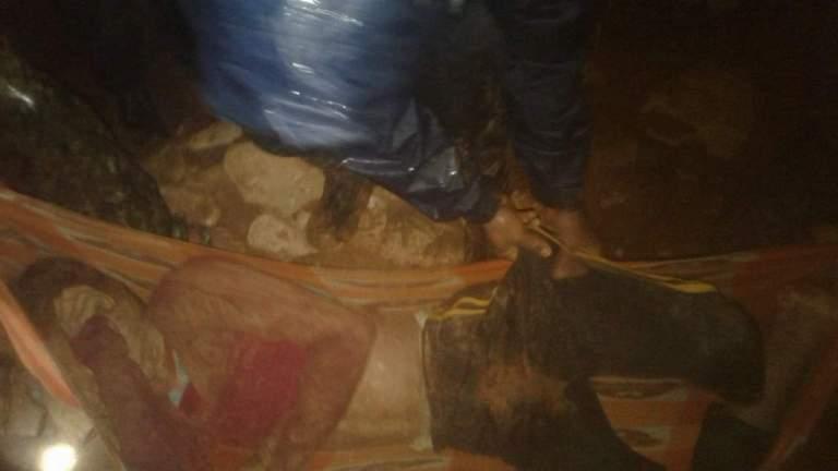 स्याङ्जामा पहिरोः ४ जनाको मृत्यु