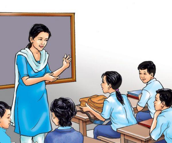 सिकाइ केन्द्रमार्फत विद्यार्थी अध्यापन गराउँदै