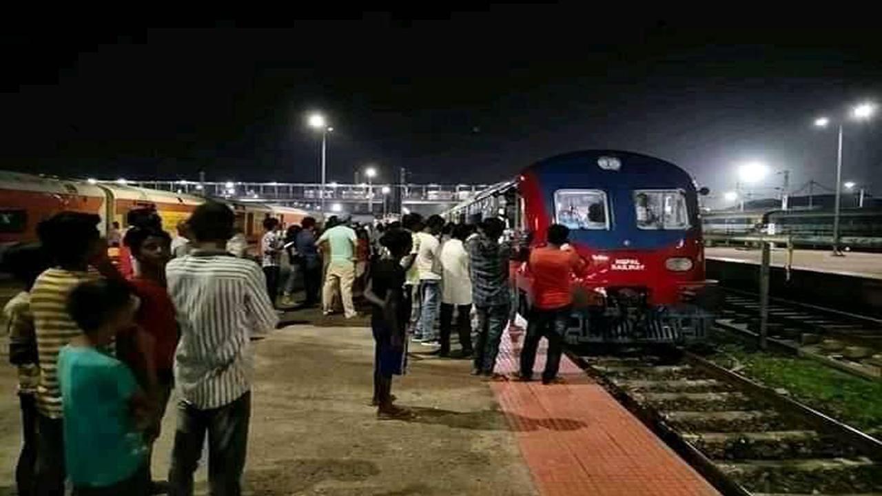 जनकपुर आउँदै नेपाली रेल