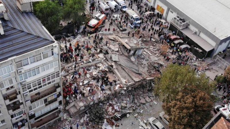 टर्की र ग्रिसमा भूकम्पको क्षति [फोटो फिचर]