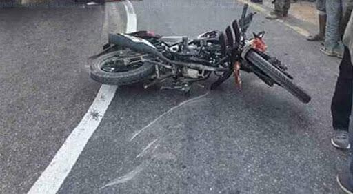 मोटरसाइकल दुर्घटनामा एक युवकको मृत्यु