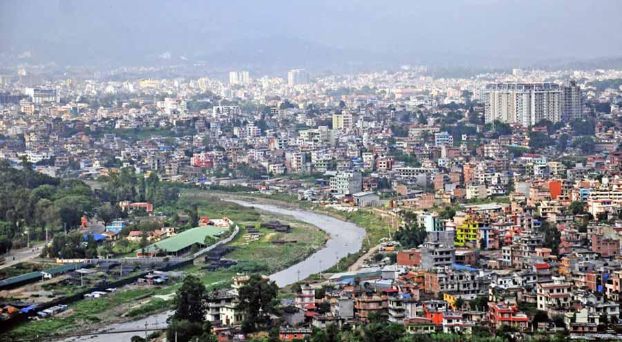 काठमाडाैंकाे तापक्रम शून्य डिग्री