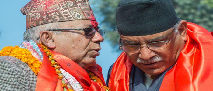 दाहाल-नेपाल समुह देशभर विजय जुलुस गर्दै