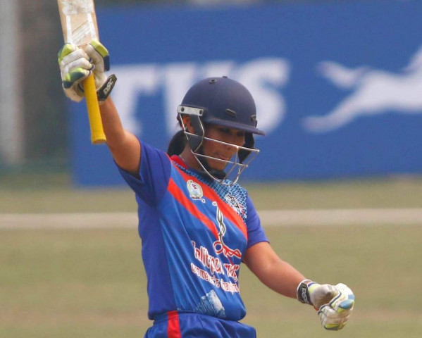 प्रदेश १ ले लुम्बिनी प्रदेशलाई १० विकेटले पराजित