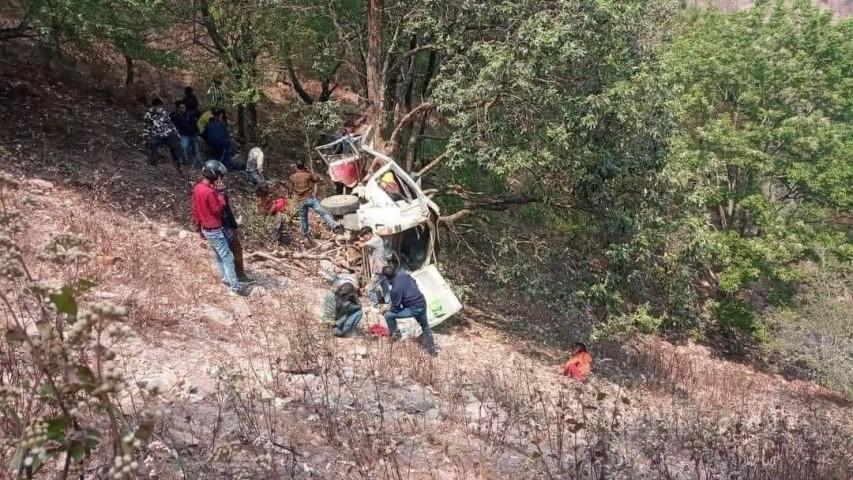 प्युठानमा जीप दुर्घटना, चार जनाको मृत्यु