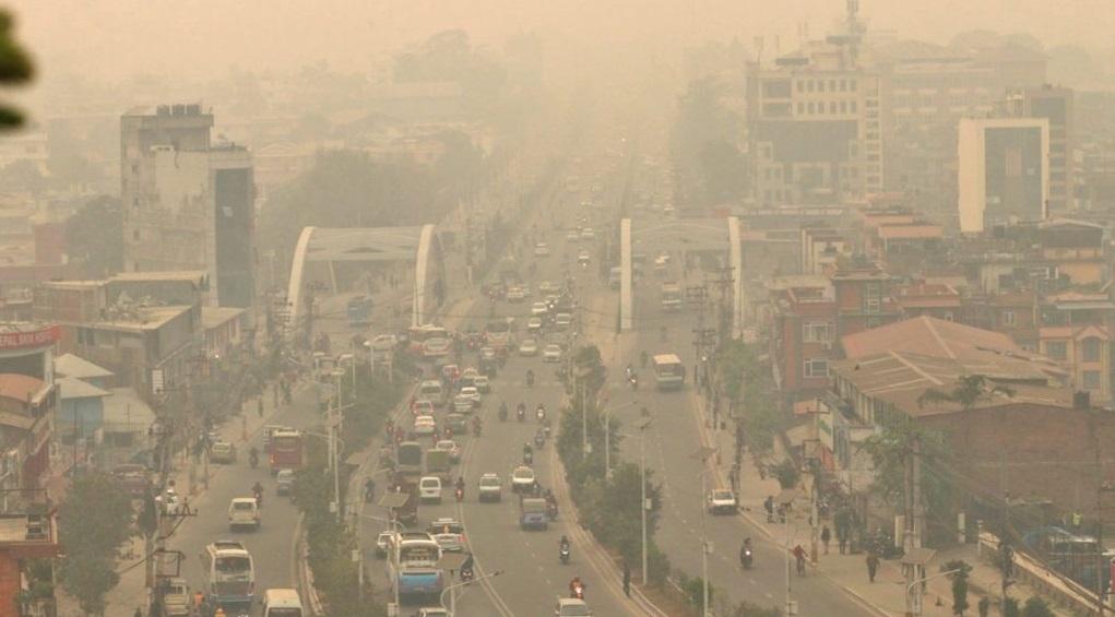 काठमाडौं आज पनि विश्वको सबैभन्दा बढी प्रदूषित सहर
