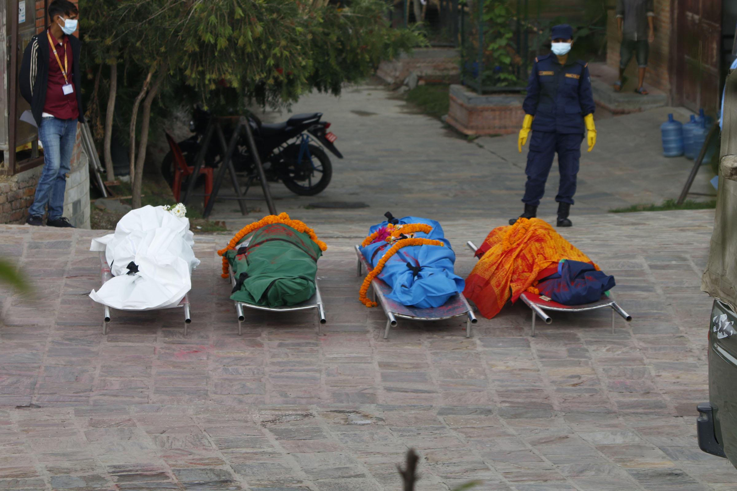 नेपालमा पछिल्लो २४ घण्टामा ९,१९६ संक्रमित ५० जनाको मृत्यु