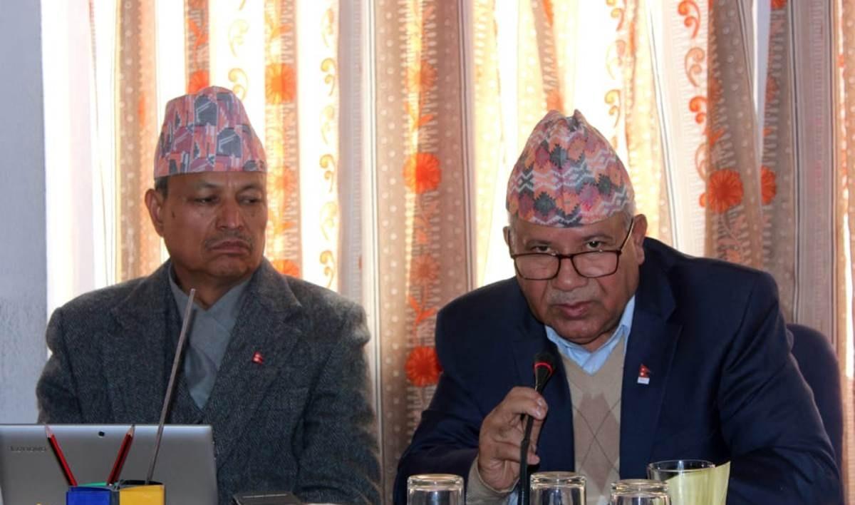 बुद्धनगरमा नेपाल पक्षको स्थायी कमिटी बैठक, भीम रावल पनि सहभागी