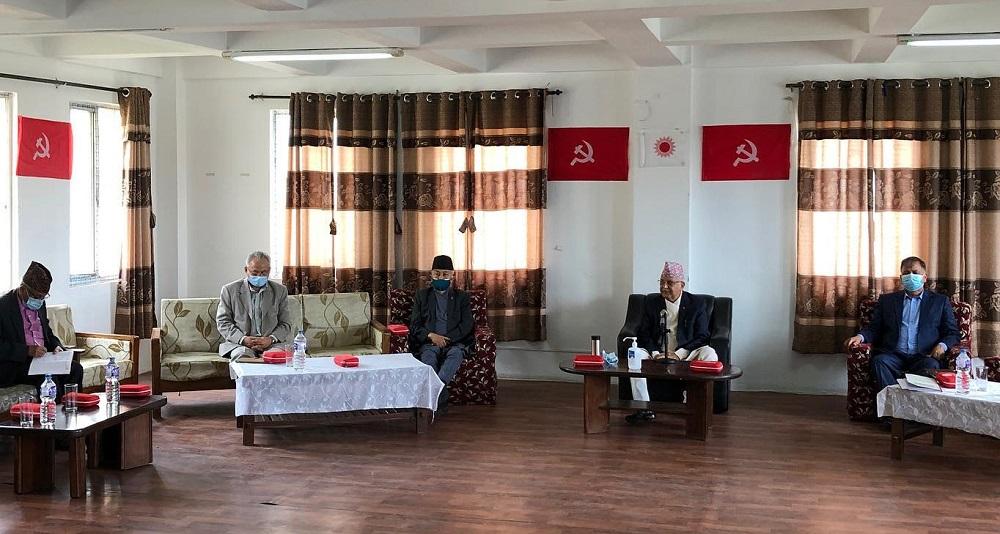 एमाले स्थायी कमिटी बैठक बस्दै, नेपाल समूहलाई नपर्खिने
